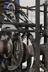 Clock formerly in Wells Cathedral, including the following associated parts: 2 bells, small parts, a lantern pinion and