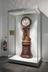 Barograph clock made by Alexander Cumming, London, England, 1766. Consists of compensated pendulum regulator clock with