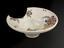 Barber's shaving bowl, tin glazed earthenware, Spanish, 1880-1919.