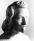 """Marble bust of """"Torricelli"""". From a black and white photograph, taken in 1967, from the Science Museum Photographic"""