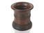 Turned wood mortar, probably English, 1651-1850.
