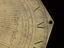 "Bronze octagonal Moon dial by Elias Allen, about 1630, 10 1/8"" wide engraved ""Elias Allen fecit a Moone diall"" Gnomon"