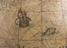 Dutch terrestrial globe, 1599 made by Blaeu, Willem Janszoon, 1571-1638. Blaeu terrestrial globe (stand worm eaten, one
