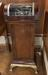 Creed automatic printer, model 2P, No. 280, in pedestal stand complete with motor drive unit.  Front 3/4 view of whole