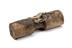 Clearing roller, type used on sets of drafting rollers to keep them clear of cotton, found at Murrays' Mill in Ancoats