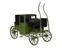 Original brougham carriage, 1838