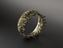 Gilded brass ring in the form of a flames, European, 1700-1910