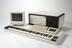 Mainframe unit for Fairlight CMI Series 3.       Music keyboard from Fairlight CMI Series 3.       Alphanumeric keyboard from