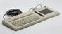 Alphanumeric keyboard from Fairlight CMI Series 3. Light pen from Fairlight CMI Series 3.