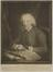 Portrait mezzotint print from engraving, 'JOHN BIRD of LONDON (1709-1776), 'Who furnished the Chief Observatories of