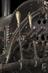 Detail of steam locomotive, remains of Robert Stephenson's 0-2-2 locomotive 'Rocket', designed by Robert Stephenson and