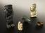Group of various amulets, used to prevent/cure various diseases & ailments. From left to right and front to back: