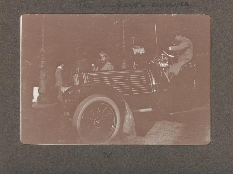 1990-5037/P80/4/17/3, A hunting trip with Tsar Nicholas II. Photographed: Tsar Nicholas II               This photograph is taken from