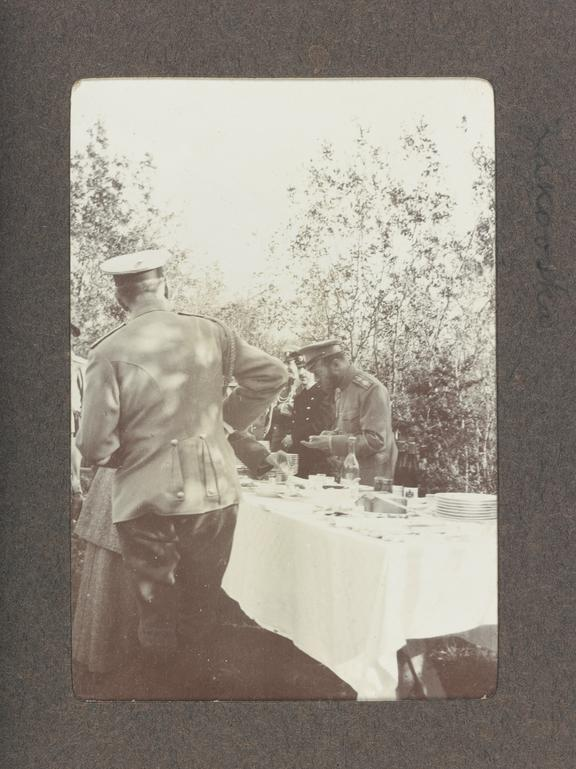 1990-5037/P80/4/14/1, A hunting trip with Tsar Nicholas II. Photographed: Tsar Nicholas II