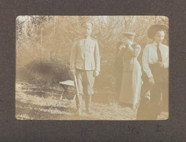 1990-5037/P80/4/13/3, A hunting trip with Tsar Nicholas II. Photographed: Tsar Nicholas II