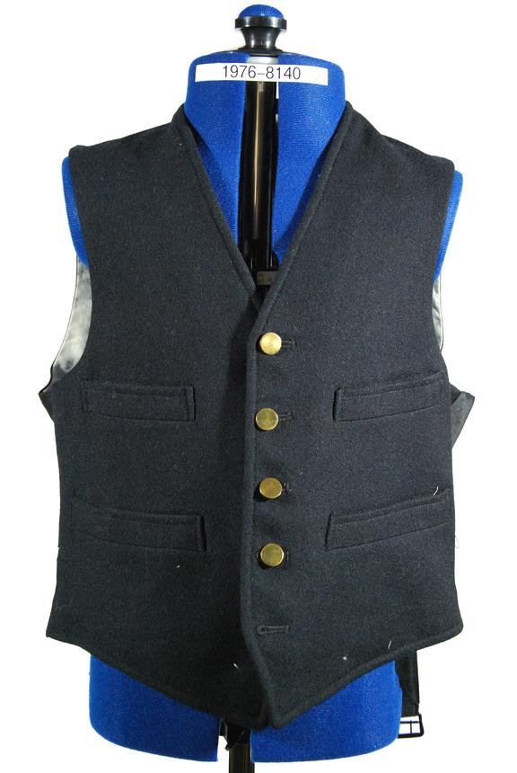 Railway Uniform waistcoat, British Railways Scottish Region, Conductor