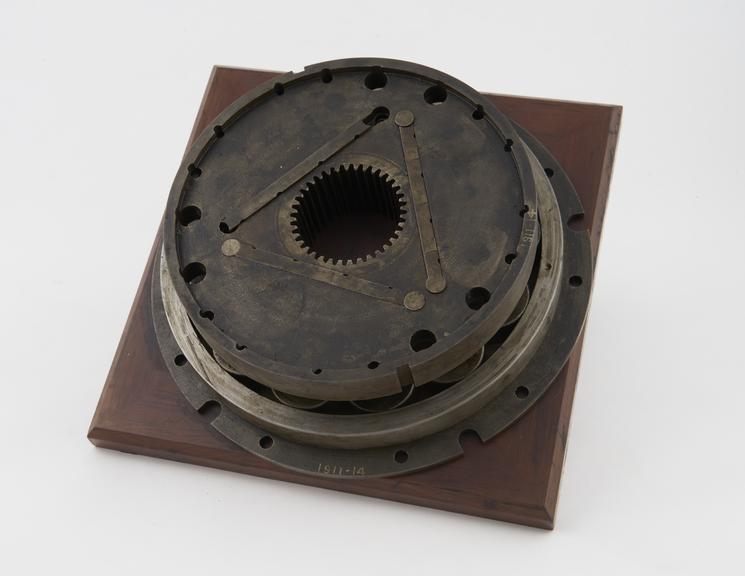 Cycloidal rotary engine piston 6 maximum diam. x 6' long'