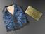 Group shot of from left to right A79271, Satin waistcoat, worn by Henry Hill Hickman, 1800-1830 and Brass door plate