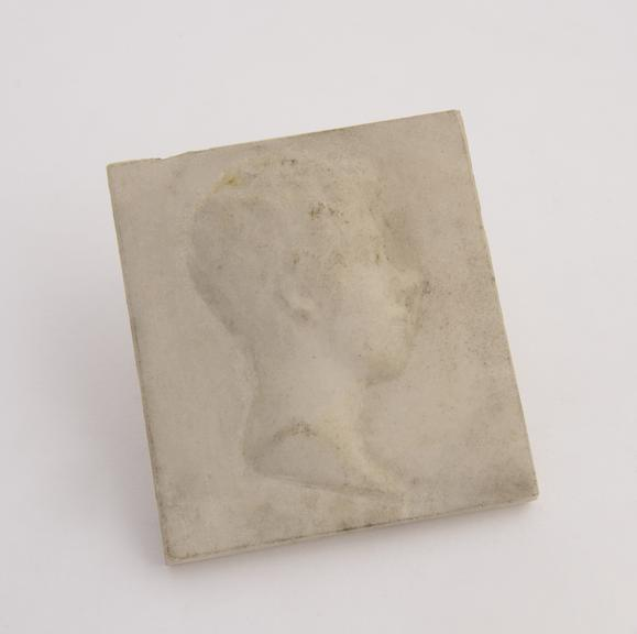 1 Reproduction in marble, marked on back Mar 1814''