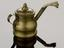 Oil lamp, brass. Part of a cupping set, incomplete, comprising one scarificator, three cupping glasses, one bottle, one