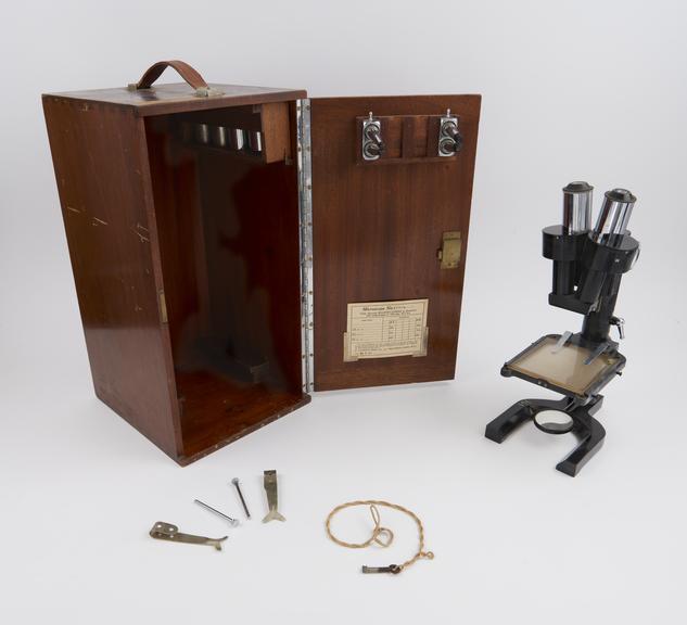 Watson's Greenough' stereoscopic microscope, made by W. Watson and Sons Ltd., London, 1945-1947'