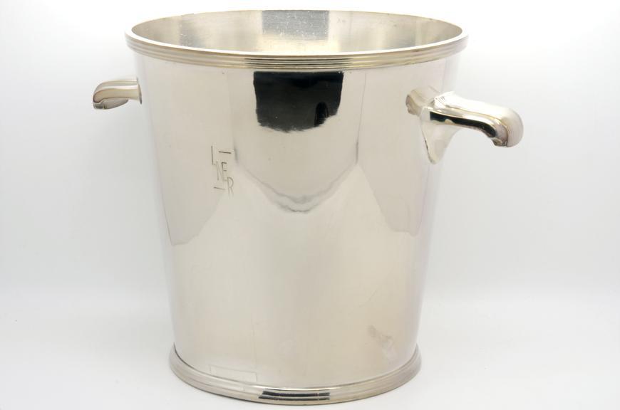 Silver plated ice bucket, London & North Eastern Railway