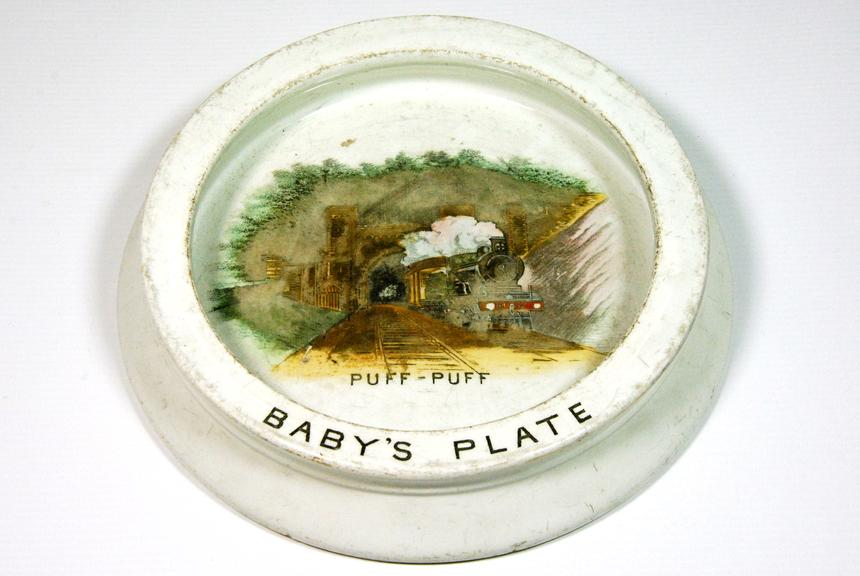Baby's plate - 'Puff Puff'