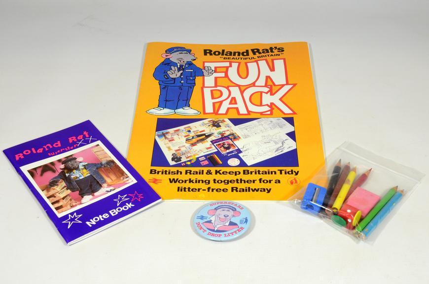 Roland Rat's Beautiful Britain fun pack