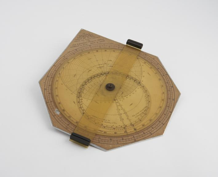 Oxford' Astrolabe with celluloid rete designed by Professor Jenkin 1925.'