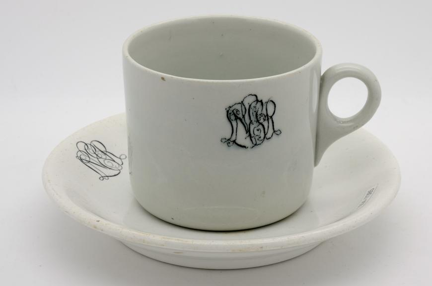 Ceramic saucer, London & North Eastern Railway