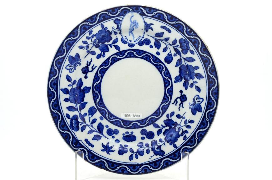 Ceramic plate, London & North Eastern Railway - Felix Hotel