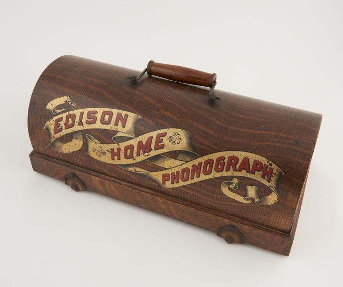 Cover for Edison Home' phonograph, Model A'