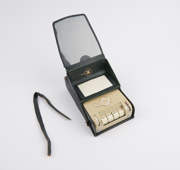 Minifon P55 S' magnetic wire dictating machine by Protona Gmbh, Hamburg, Germany, 1959.'