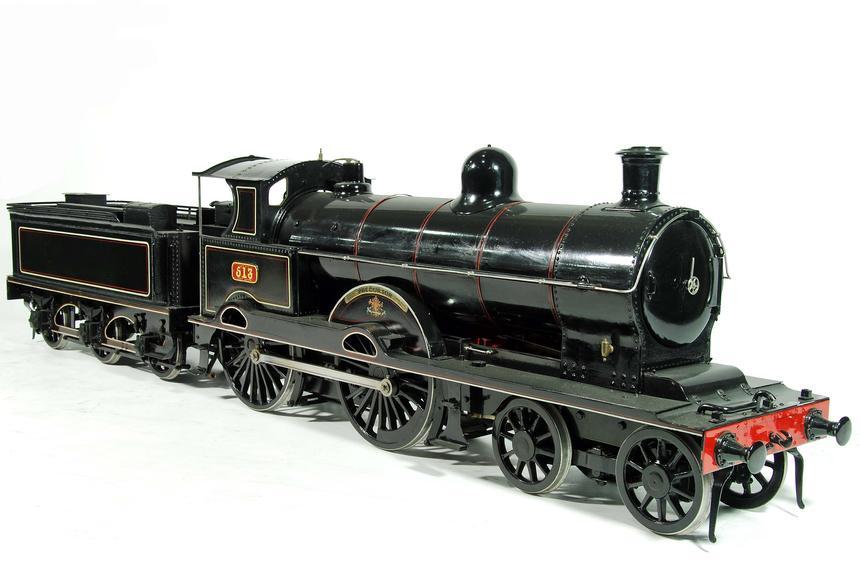 Model locomotive, London & North Western Railway