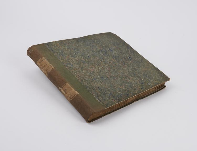 Braille book titled: ?The New Testament, The Gospel According to St. Luke?, by Jas. H. Frere, ESQ., United Kingdom, 1848