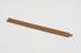 Donkin slide rule; wood, length 9 1/8, stamped 'Donkin' in corner at back of rule'