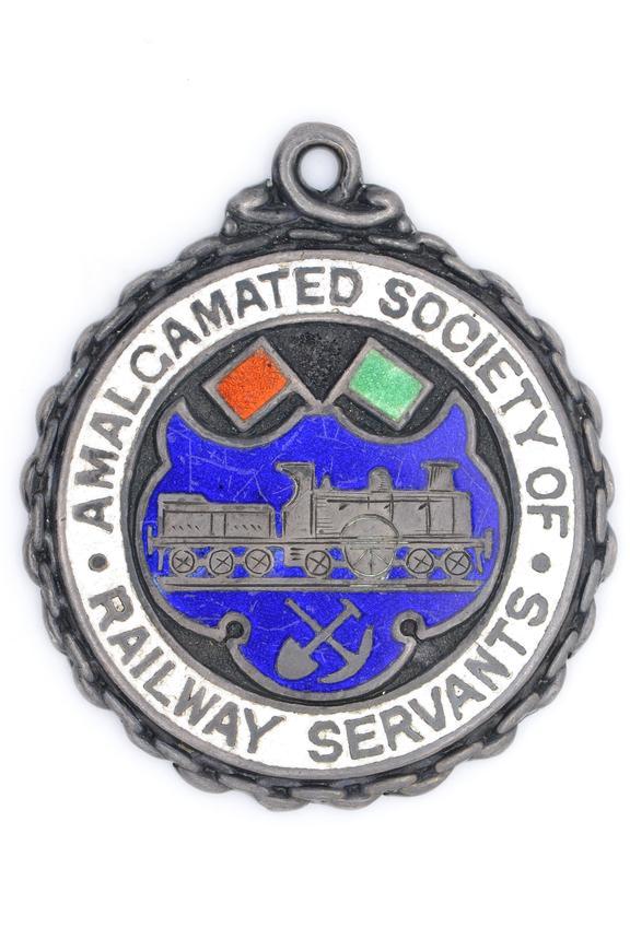 Medal,  Amalgamated Society of Railway servants