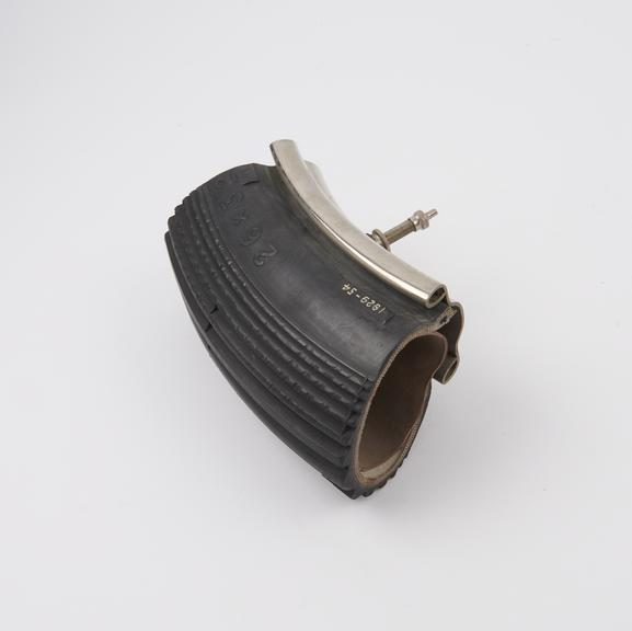 6 section, cover, tube and rim: 3.25' Dunlop ribbed wired tyre on W.M.2 rim, for motor cycles'