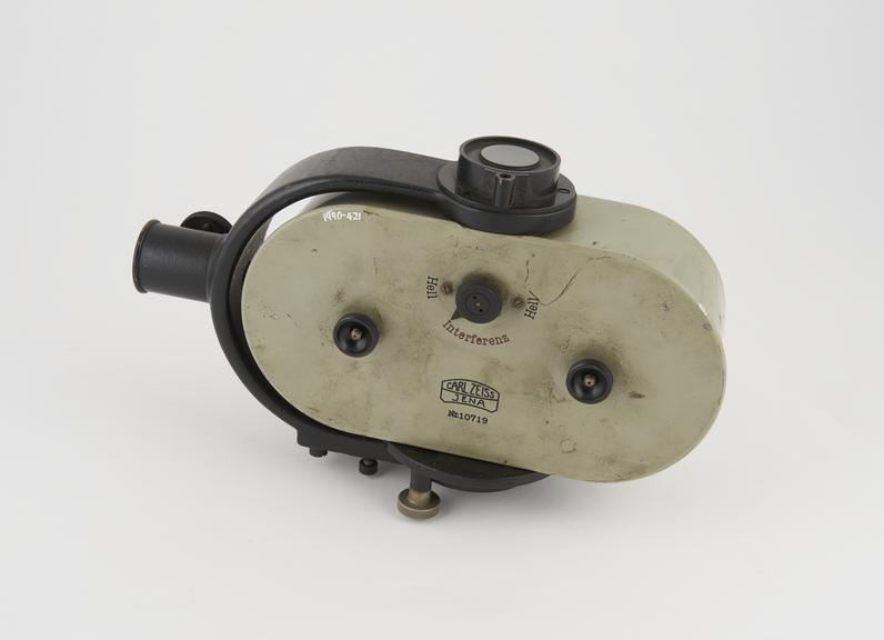Schleifen-Galvanometer or loop galvanometer (a variant of a string galvanometer) No. 10719 by Carl Zeiss, Jena (loop