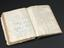 Illustrated notebook, part of stereotaxic apparatus used by Sir Victor Horsley and Richard Clarke, Made by Swift and