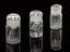 Group shot from left to right of,       1892-142 Pt14 Glass-stoppered bottle containing gallium, from a collection of
