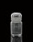 Glass-stoppered bottle containing osmium, from a collection of specimens of elements bequeathed by Prince Louis Lucien