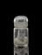 Glass-stoppered bottle containing thorium (part in tube), from a collection of specimens of elements bequeathed by