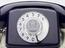 Jubilee Telephone, royal blue, 2S/A 4271 FWB 77/1. Close up detail view, light grey background