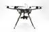 Hexacopter drone kit and digital video camera. The kit was built by the Global Video Unit and used to collect video