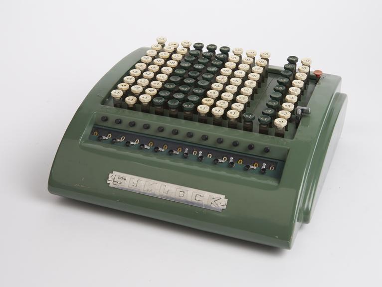Sumlock' adding/calculating machine no.912/S/3475'