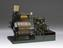 Model of compound surface, condensing steam marine engine complete with 3 furnace return tube type boiler,