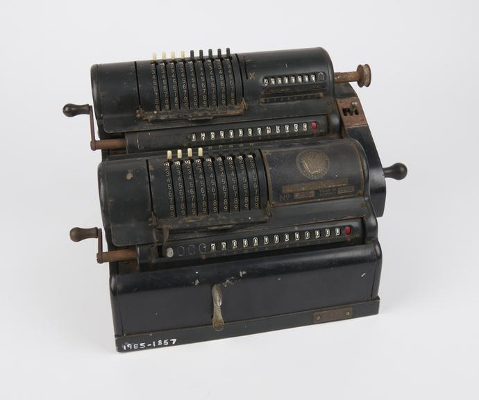 Marchant calculating twin' mechanical calculating machine, made 1945'