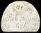 """1 Plaster mould, woman seated cupid on her foot, ewer on ground, marked on back """"Rob.Hamilton 1796"""", semicircular 2"""