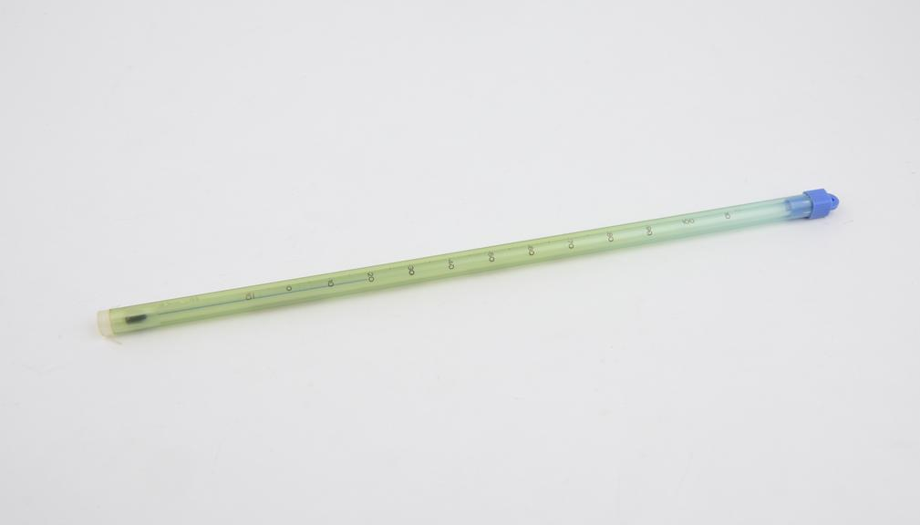 Z-strengthened' 'Blufil' laboratory thermometer 305mm long, type 10683, range -10 degree centigrade to +110 degree